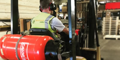 Warehousing Forklift